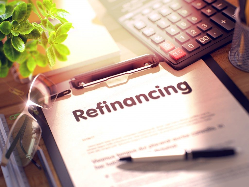 refinancing concept