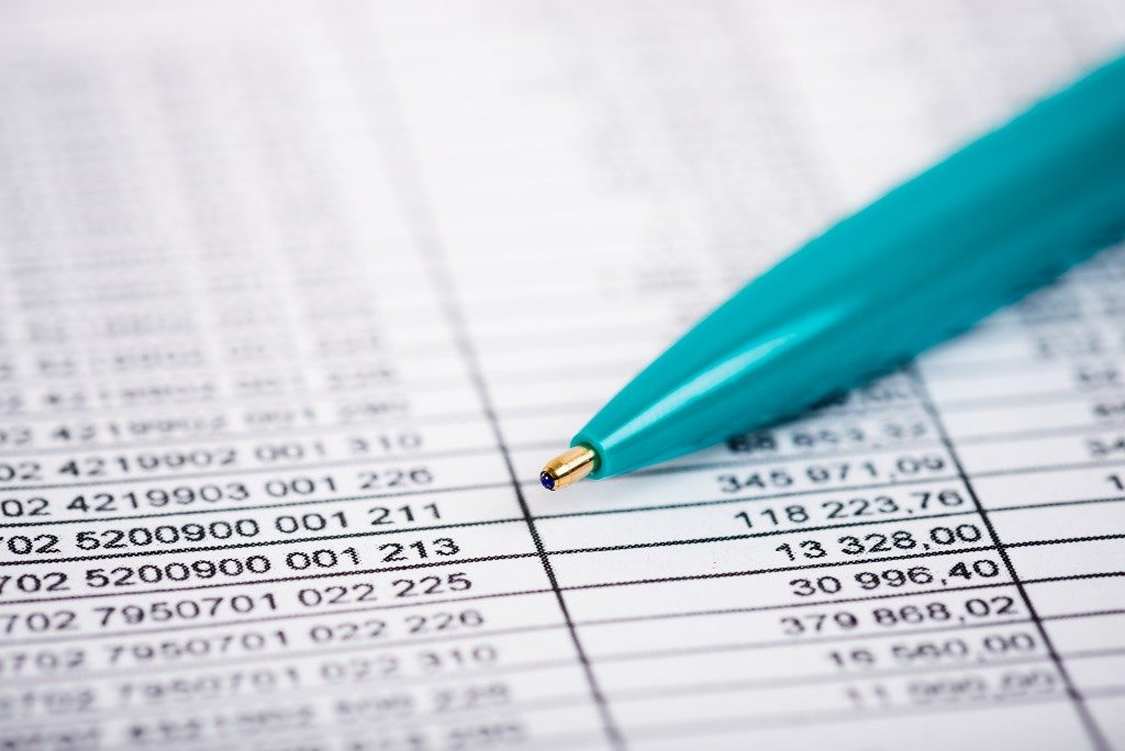 accounting data