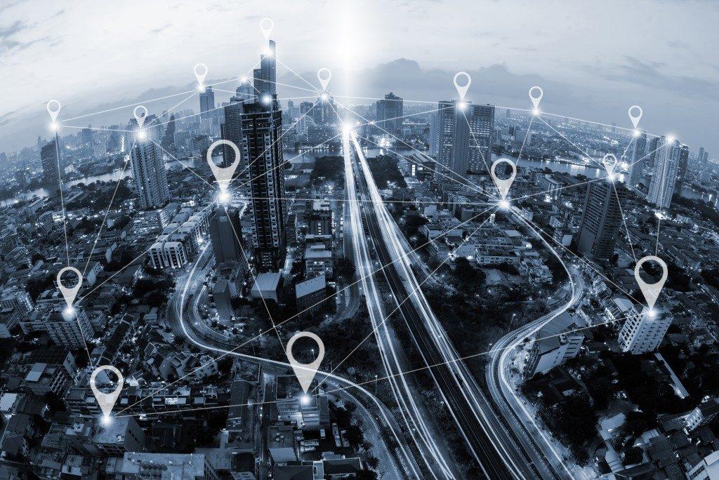 GPS concept
