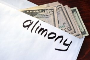 the amount of alimony