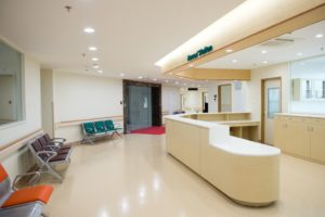 healthcare facility interior