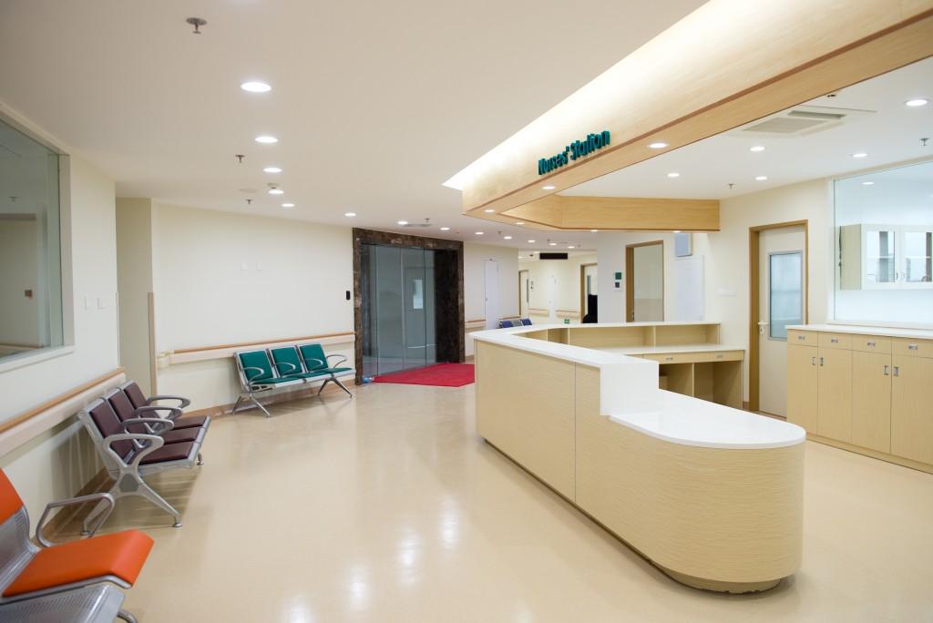 healthcare facility interior