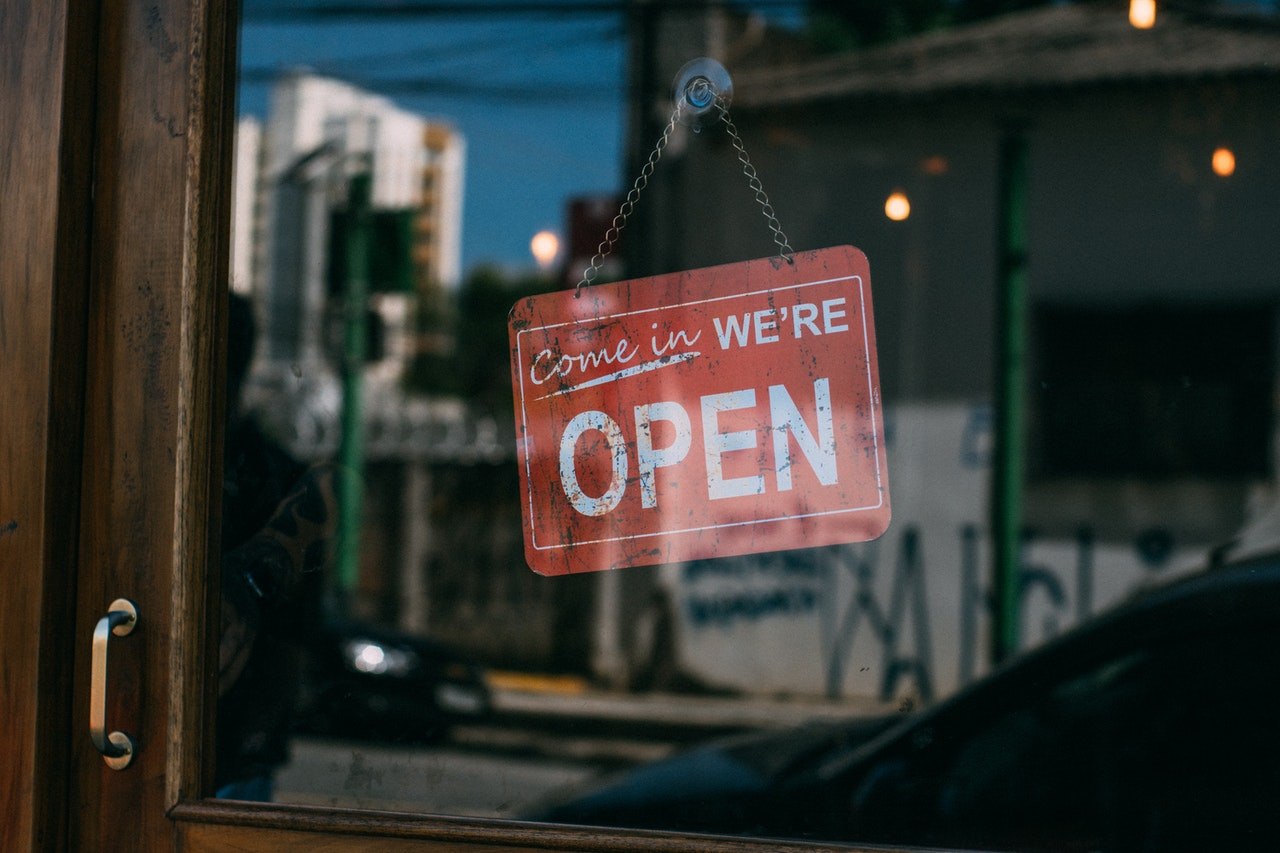 opened local corner shop