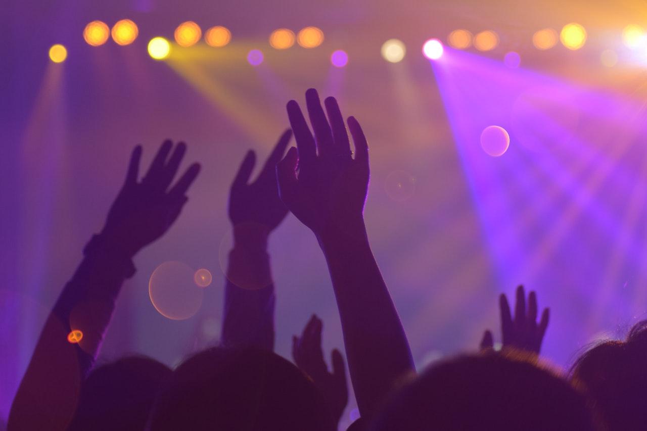 concert scene