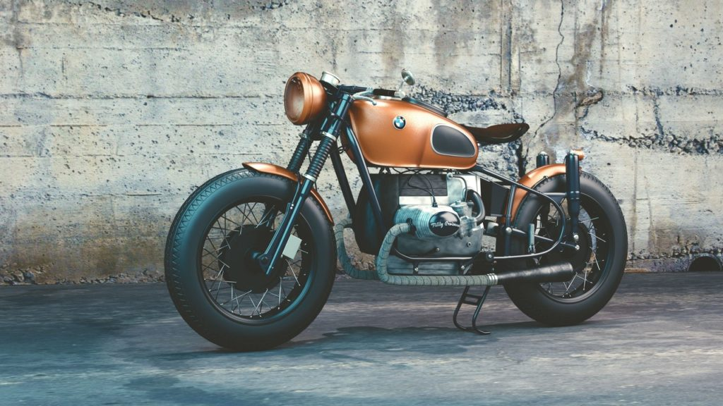 classic bmw cafe racer
