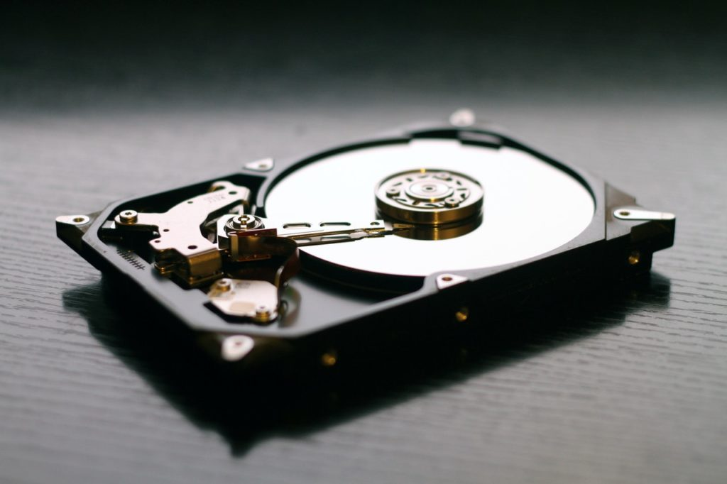 a small hard disk drive