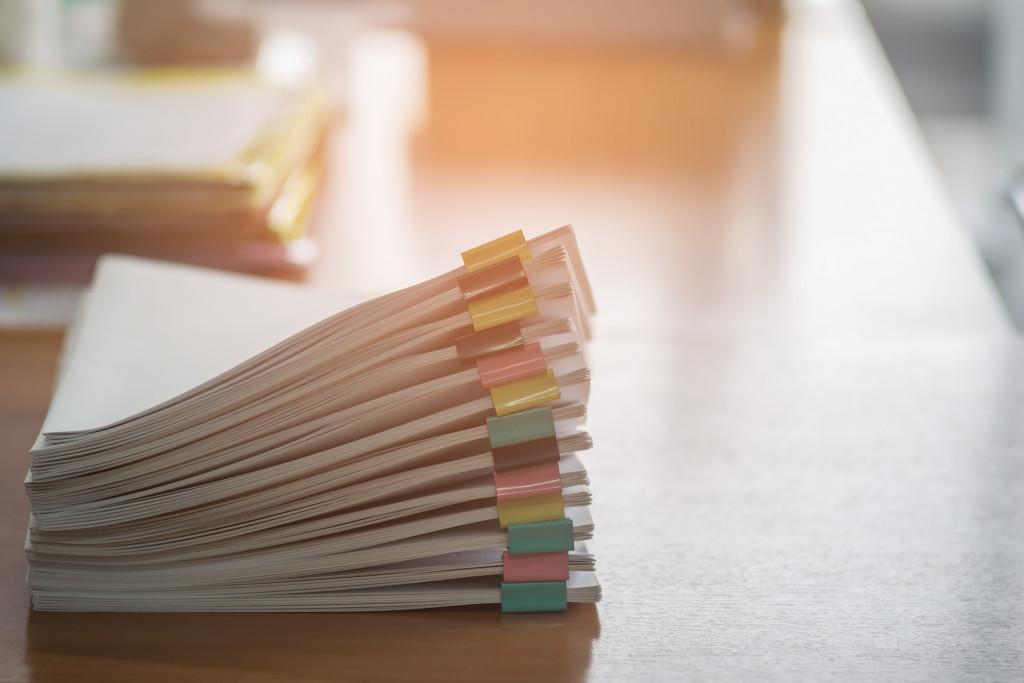paperwork concept