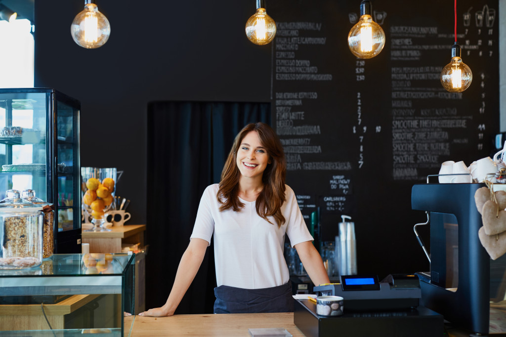 barista in cafe