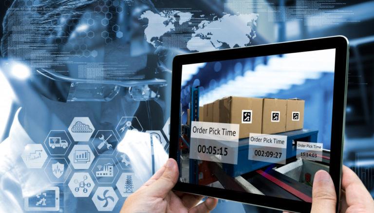 digitalization of sorting warehouse